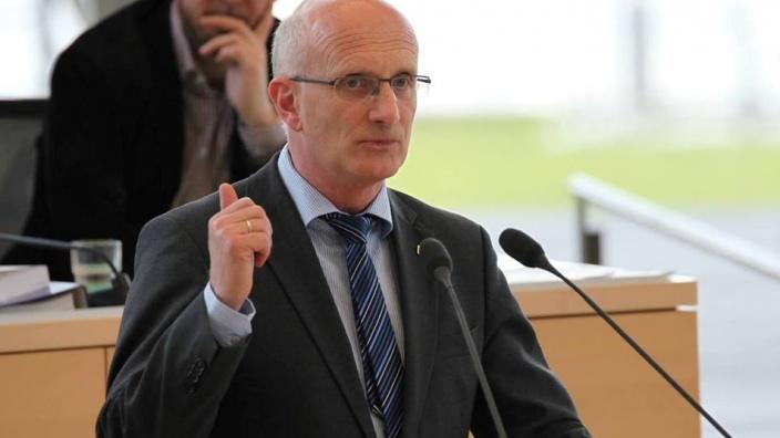 Klaus Jensen, MdL im Landtag